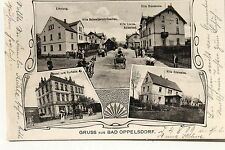 19269 AK Gruß aus Bad Oppelsdorf Hotel zum Kurhaus u. and. Villen 1906 Schlesien