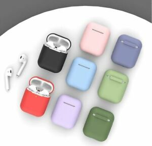 Protective Case For Airpods 1 and 2 Cover Silicone Skin Apple Earphones Designs