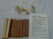 Assorted Wood Pen Blanks and Twist Pen Kits +Wood Turning Book!