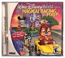 Walt Disney World Quest Magical Racing Tour Dreamcast New NO Cracks or Tears
