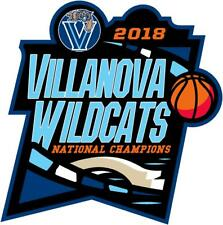 NCAA Championship Decal 2018 Villanova Wildcats National Champions