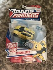 Hasbro Transformers Animated Deluxe - Autobot Bumblebee with Snap On Rocket...