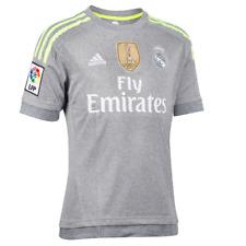 Maillot REAL MADRID enfant gris YWC AK2492 DESTOCKAGE de Foot Football