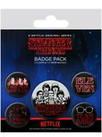 Anstecker-Paket Stranger Things Characters