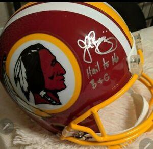 nfl autographed football helmets full size