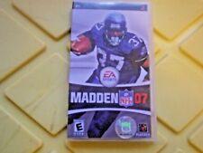 SONY PSP GAMES MADDEN NFL 07