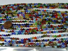 "30 Strands 36"" India Handmade Assorted Color Glass Beads Wholesale Bulk (CT-32)"