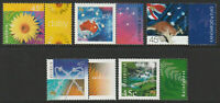 Australia 2000 : Nature and Nation - Set of 5 x 45c Stamps, with Tabs, MNH