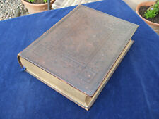 Leather Bound Bible 1860s Prince James
