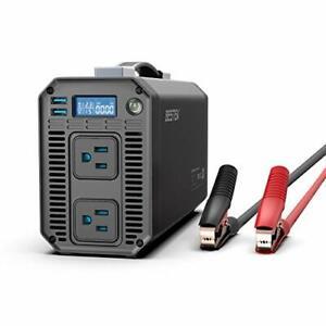 BESTEK 1200W Power Inverter DC 12V to 110V AC Converter with Digital (1200W)