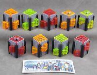 Überraschungsei Figuren die wachsende Stadt 1997 Auswahl mit BPZ Wolkenkratzer