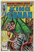 King Conan #13 (Nov 1982, Marvel) [1st Marc Silvestri Art] Doug Moench v