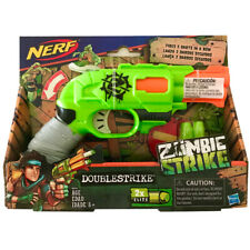 Nerf Zombie Strike Doublestrike Blaster - Action toy - Double-barrel Brand New