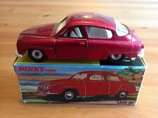 DINKY 156 SAAB 96 ORIGINAL AND BOXED