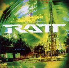 CDs de música rock pop Ratt
