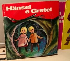 HANSEL E GRETEL Grimm 1971 FOLLETTO ALLEGRO MALIPIERO