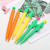 0.5/0.7mm Kawaii Cactus Carrot Corn Mechanical Pencil Automatic Drawing Pencil .