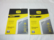 2 NEW OTTERBOX VIBRANT SCREEN PROTECTORS FOR SAMSUNG GALAXY TAB 3 - 7 INCH