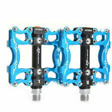 RockBros Bicycle Cycling Pedals Bike Pedals 2 Sealed Bearing Pedals Blue 9/16 in