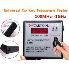 Prova di frequenza digitale universale auto IR infrarosso remoto chiave Tester di frequenza