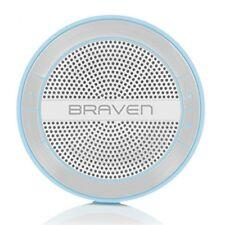 Braven Mira HD Portable Wireless Bluetooth Speaker - Blue/Silver/White