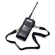 extendido suave caso bolsa de cuero para Baofeng UV-5R 3800mAh Radio portatil in