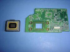 Proyector DLP DMD Chip S1076-7402 + NEC Formater Pwb 7N245541 ref NE3C en funcionamiento