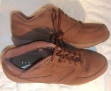 NICE NIKE AIR BROWN SUEDE SHOES SIZE 13 IN VERY GOOD CONDITION