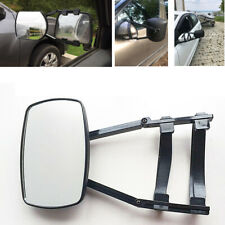 1x Universal Clip-On Towing Mirror Car Trailer Safe Hauling Adjustable Extension