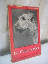CYNOLOGIE / le chien Ratier par Maurice Luquet 1948