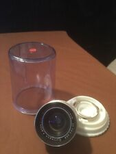 Schneider-Kreuznach Retina-Curtagon f:4/28mm Compur Lens