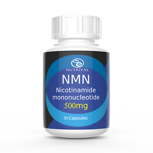 NMN Nicotinamide mononucleotide 500mg capsules, certified >99% pure, NAD+