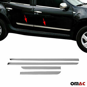 For Mercury Mariner 2004-2010 Chrome Side Body Door Protect Trim Stainless Steel