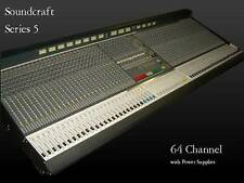 Soundcraft Series 5 Mixing Console,64 Channel with power supplies