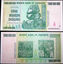 ZIMBABWE 1 Billion Dollars, 2008, P-83, World Currency, 100 Trillion Series