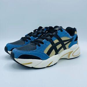 ASICS Mens GEL-BND Sneakers - Size 8 - Navy White Tan Black Sneakers (1021A216)