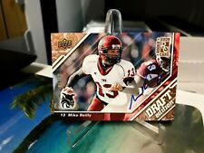 MIKE REILLY RC #33/50 AUTO UD DRAFT EDITION CW WILDCATS ROOKIE BC LIONS CFL 2009