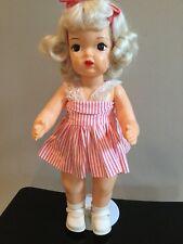 Doll Terri Lee MarFan Platinum Wig Original Outfit
