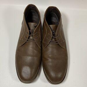 Dexter Comfort Mens All Man Made Brown Chukka Boots Mens Size 11