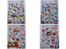 4 x New Vinyl Quality Hello Kitty Stickers Wall Decal Craft Children Size: A4