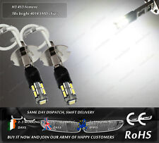 LED SMD H3 453 Automotive Car Xenon White 6000k Driving Fog Light Bulbs 12V