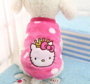 XXXS/XXS/XS/S Cute Teacup Dog Clothes Puppy Vest Coral Soft Leopard Clothing