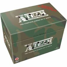 A - TEAM TV Series DVD Complete Collection Season 1,2,3,4,5 [27 Discs] Box Set