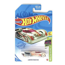 Hot Wheels Lindster Prototype Best For Track 4/5 HW Glow Racers 2020 62/250 New