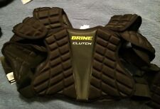 Brine Clutch Sp Black Lacrosse Shoulder Pads Medium Csp15-Bk-M Nwt
