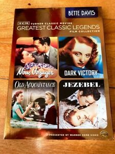 TCM Greatest Classic Legends: Bette Davis with slipcover