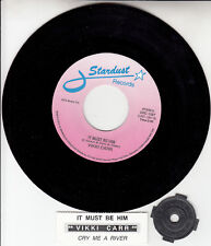"""VIKKI CARR  It Must Be Him & JULIE LONDON Cry Me A River NEW 7"""" 45 vinyl record"""