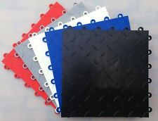 HIGHEST QUALITY POLYPROPYLENE FLOOR TILES - MODULAR GARAGE FLOORING SYSTEM