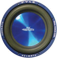 Pyle plbw124 SUBWOOFER 30.5cm Blue Wave 1200 vatios; DVC ; 2070ml IMÁN