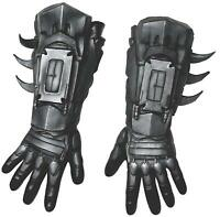 Rubie's Men's Arkham City Deluxe Batman Gloves, Black,, As Shown, Size One Size